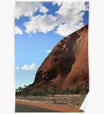 Uluru Crevices Poster