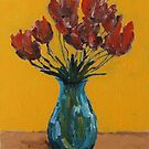 vase and flowers by adam pearson