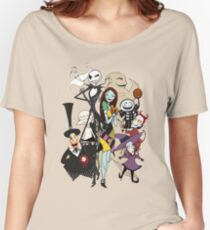 the nightmare before christmas Women's Relaxed Fit T-Shirt