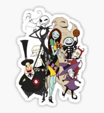 the nightmare before christmas Sticker