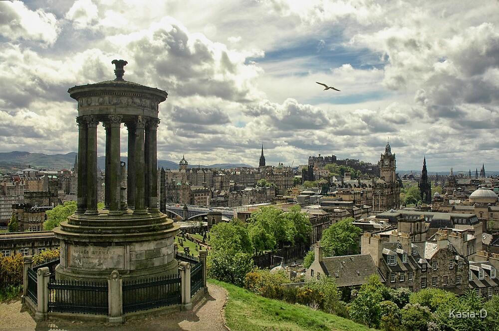 Edinburgh from Calton Hill by Kasia-D