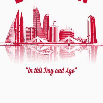 Bahrain Skyline by TheDayNAge