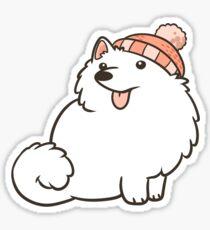 Japanese Spitz Sticker