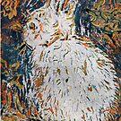 Hop bunny , Hop, Hop,Hop Two by Kay Clark