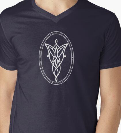 Undómiel Mens V-Neck T-Shirt