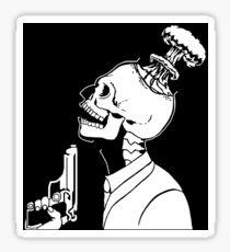 Suicide, Homicide, Genocide Sticker