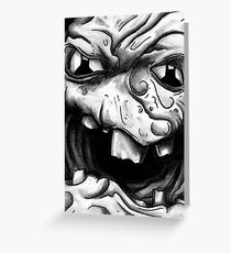 Rogues Gallery - Clayface Greeting Card