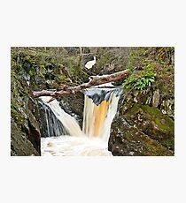 Twin Pecca Falls, Ingleton Waterfalls Trail Photographic Print