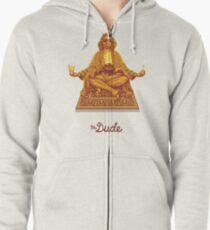 Sudadera con capucha y cremallera El amigo Budha El gran Lebowski