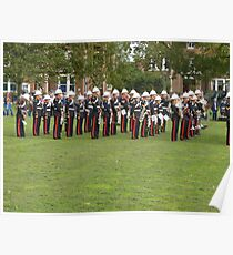 Royal marines freedom of Littlehampton Poster