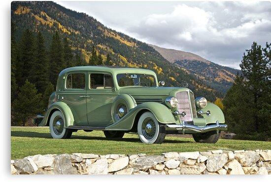 1935 Buick Club Sedan by DaveKoontz
