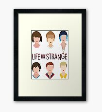 life is strange Framed Print