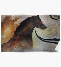 Cave Painting Poster
