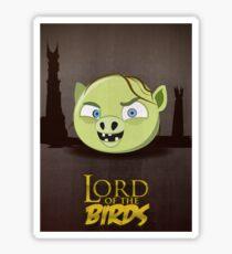 Lord of the Birds - Gollum Sticker