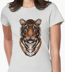 <Acquire the tiger> Womens Fitted T-Shirt