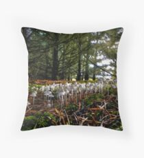 Family Get-To-Gether ~ Mushrooms ~ Throw Pillow
