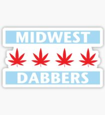 Midwest Dabbers Sticker