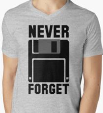 Floppy Disk Never Forget T-Shirt