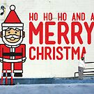 Virtual Christmas Graffiti, Italian Club, Hobart Tasmania by samedog
