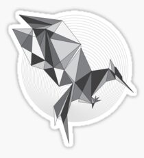 Catching Fire - Every revolution begins with a Spark BW Sticker