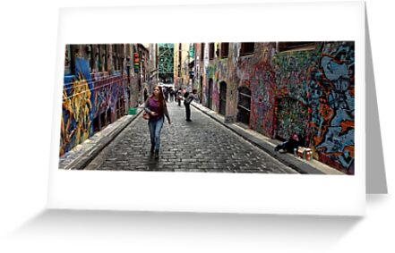 Hosier Lane by Garth Smith