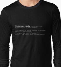INCONCEIVABLE Long Sleeve T-Shirt