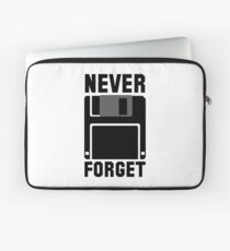 Floppy Disk Never Forget Laptop Sleeve