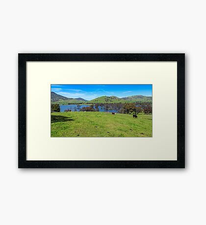 Hume Wier - Tallangatta Valley Framed Print