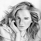 Emma Watson sketch by Chris Neal