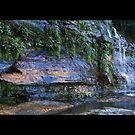 Katoomba Falls Second Tier by mspfoto