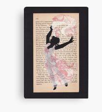 April Lady Dancing Canvas Print