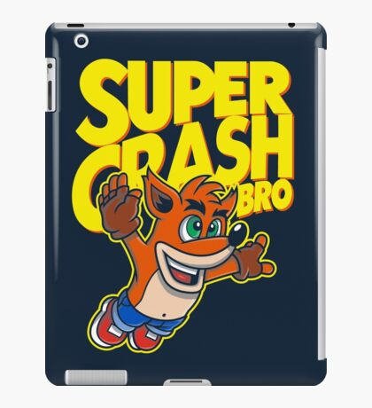 Super Crash Bro iPad Case/Skin
