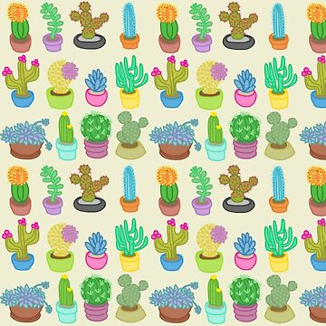 Succulents and Cacti by glorifyobesity