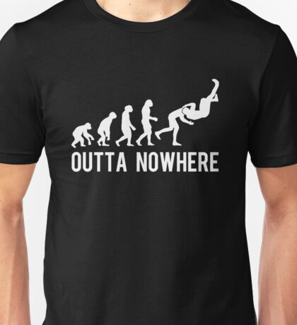 RKO OUTTA NOWHERE (WHITE) Unisex T-Shirt
