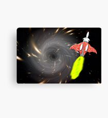 Will We Have the Power to Pass the Black Hole Canvas Print