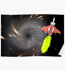 Will We Have the Power to Pass the Black Hole Poster