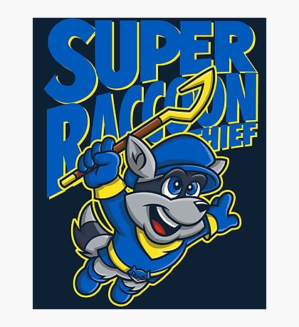 Super Raccoon Thief Photographic Print