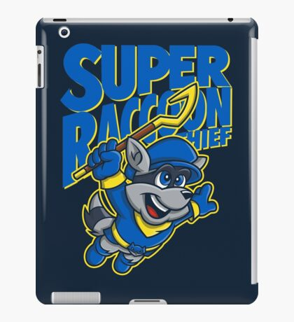 Super Raccoon Thief iPad Case/Skin