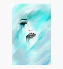 Fille Triste Photographic Print