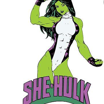 She Hulk by dntyarts