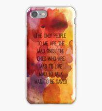 Kerouac Watercolour II iPhone Case/Skin