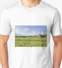 A Riverside Meadow at Mapleton T-Shirt