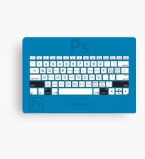 Photoshop Keyboard Shortcuts Blue Opt+Shift Canvas Print