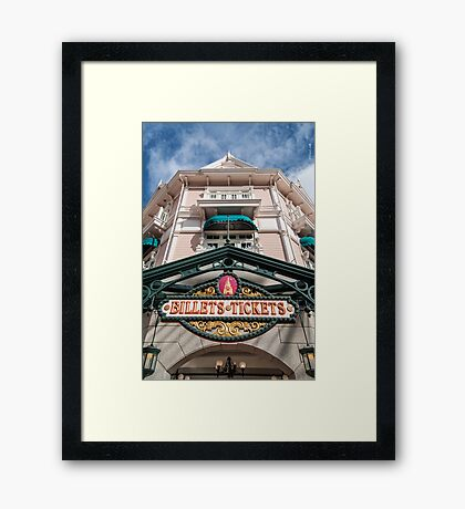 Billets Framed Print