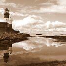 Longstone Lighthouse by mikebov
