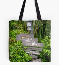 Directions to Indiana Jones Tote Bag