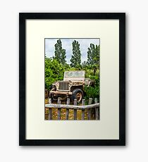 Jeep Framed Print