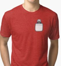 Sans in the Pocket - Undertale Tri-blend T-Shirt