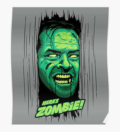 Here's Zombie! Poster
