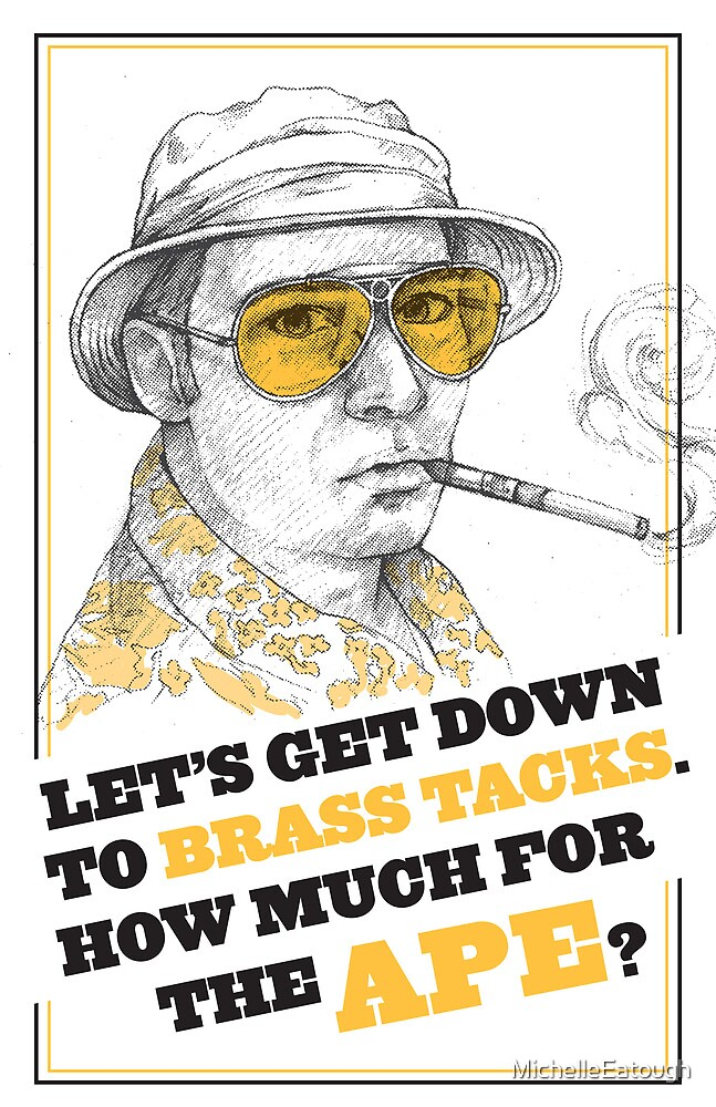 FEAR AND LOATHING IN LAS VEGAS- HUNTER S. THOMPSON by MichelleEatough